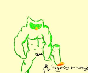 Duolingkong the owl monkey
