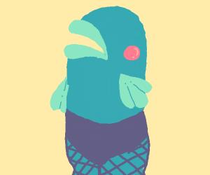 a fishy woman