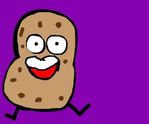 A potato with legs