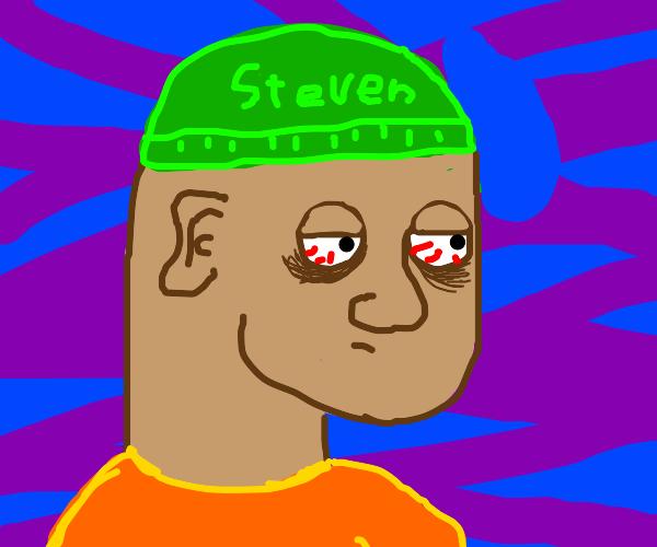 Steven has not slept in days