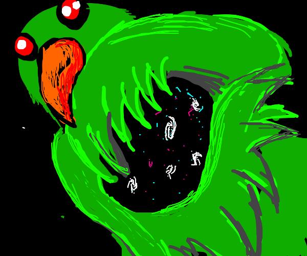Parrot Controls the Universe