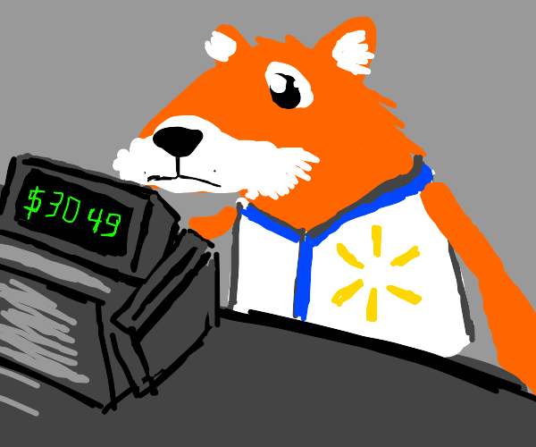 fox works at walmart