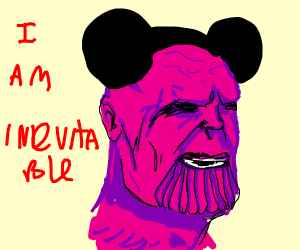 Mickey Mouse Thanos (This is inevitable)