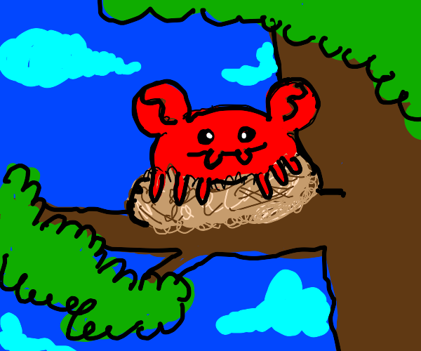 Crab in a Nest