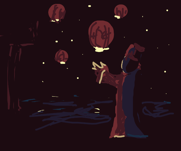 Chinese Emperor releases Chinese Lanterns
