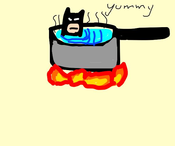Delicious bat soup