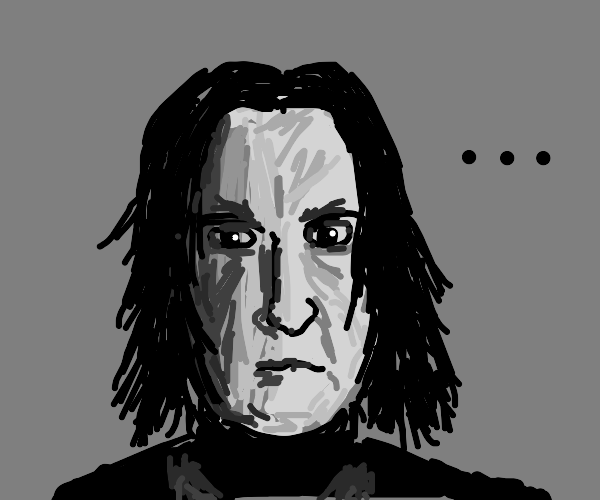 Professor Snape doesn't know what to say