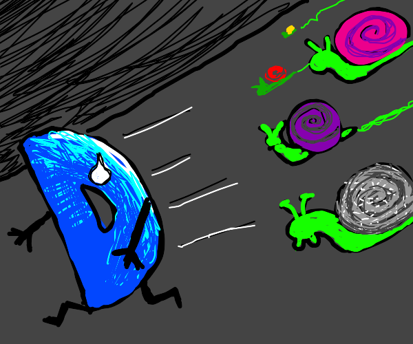 The Snail Invasion of Drawception