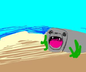 Burping seal? Czech.