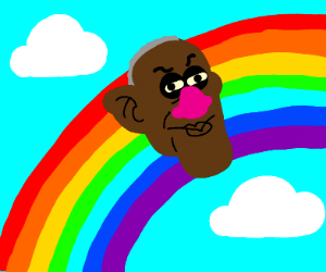 Bill cosby is a rainbow now