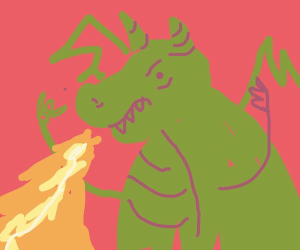 Very fat dragon