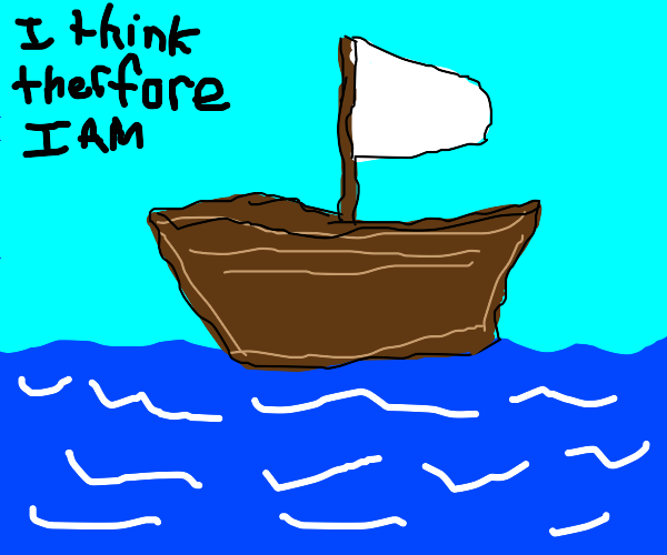 Boat is very philosophical