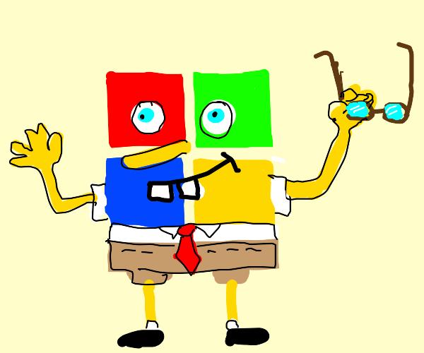 Microsoft Bob without glasses