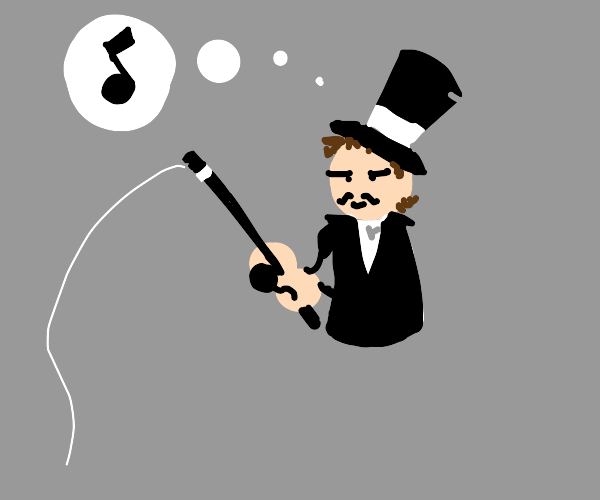 magician fishes and dreams of music