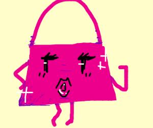 A living Fancy purse
