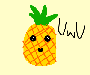 The most kawaii pineapple