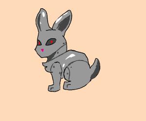 robot bunny