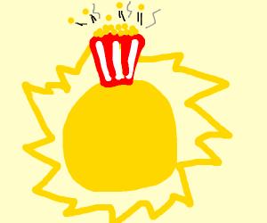 Popcorn on the Sun