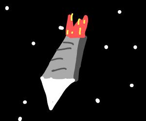 Starship in Space
