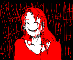 Happy Person with Red Shirt