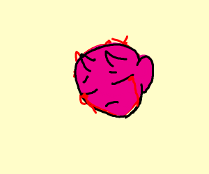 demon crying blood