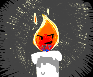 Smug Candle Flame