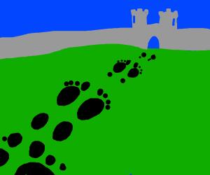 Bigfoot's footprints lead to a kingdom