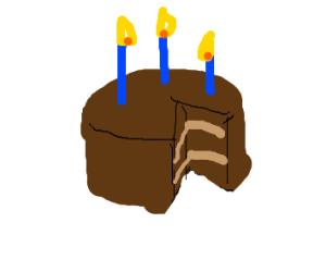 chocolate bday cake
