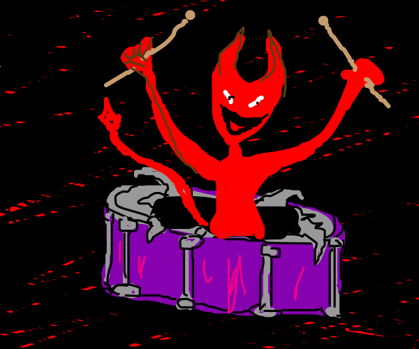 The Devil Is Bad At Drumming