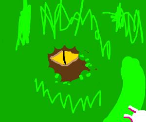 dinosaur sees a duck