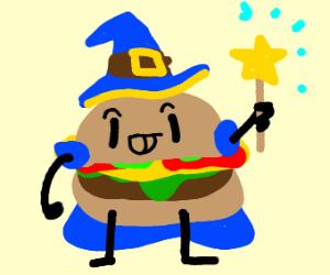 Magical cheeseburger