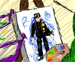 Everyone draws JoJo