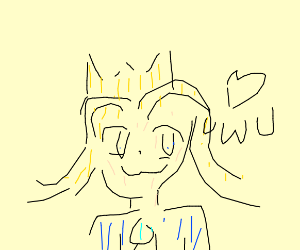 Princess (I like the drawing its good)