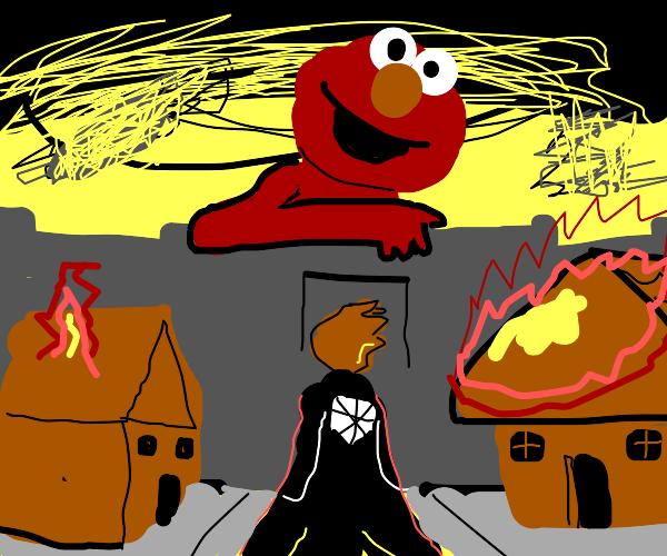 attack on Elmo