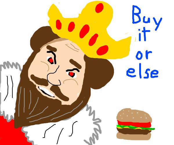 burger king ad