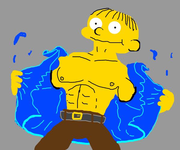 Ralph Wiggum became a strong man