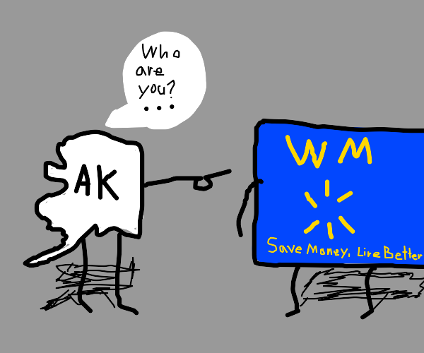 Alaska has never heard of Walmart