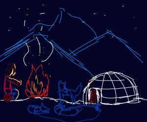 eskimo camping