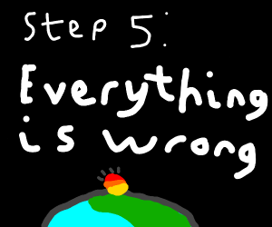 step 4: convince everyone that nothings wrong
