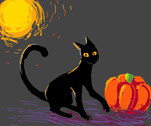 Free Draw, but spooky