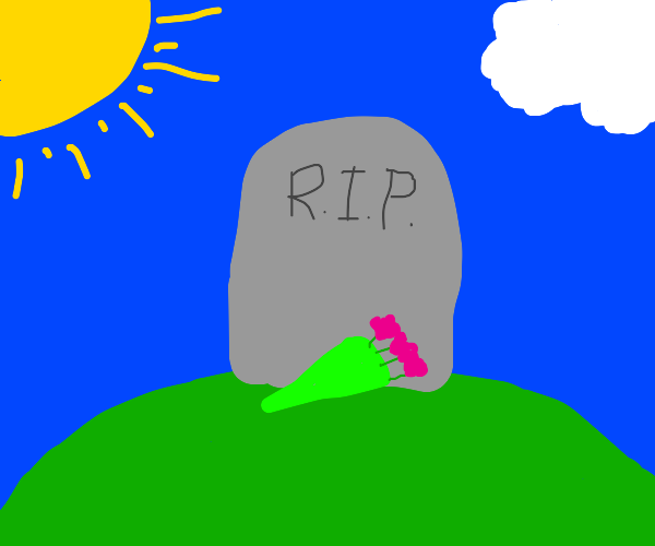 Grave that says RIP