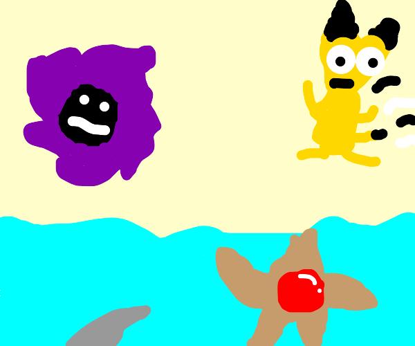 Fun day at the pool