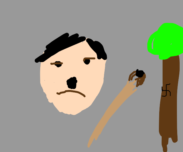 Hitler actualy is good att painting