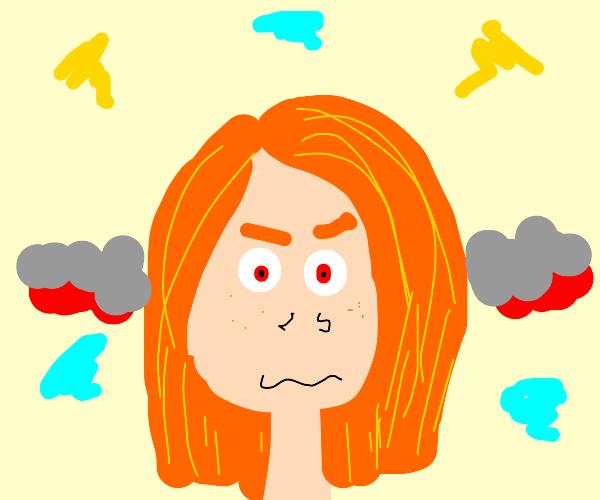mad ginger girl