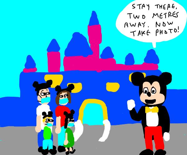 Disney is re-opening!