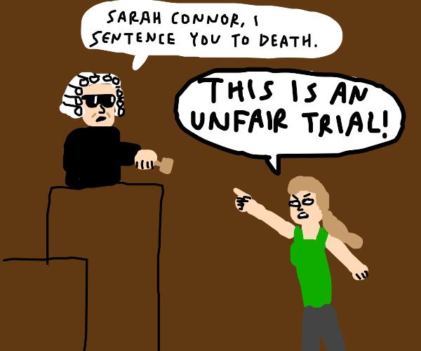 Judge terminator