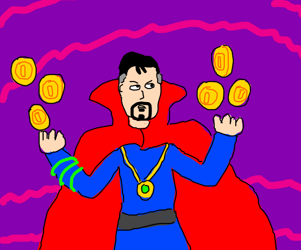 Dr Strange found Koopa Coins