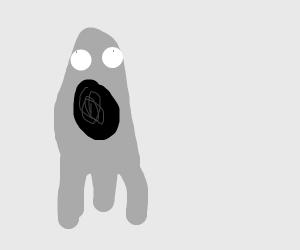 Ghost is screaming