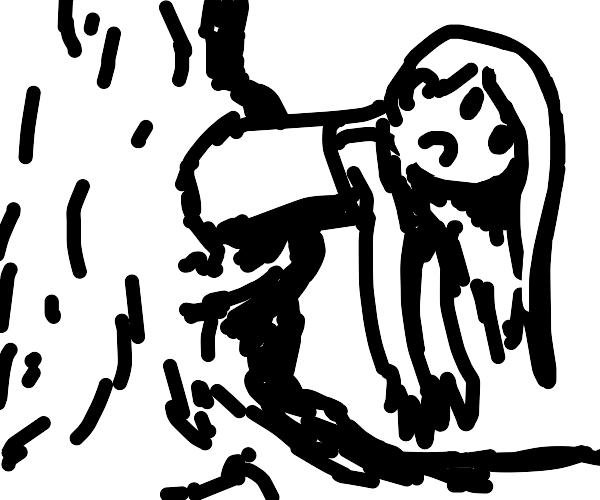Crimvael is stuck