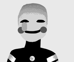 marionette (from FNAF) ((i think))